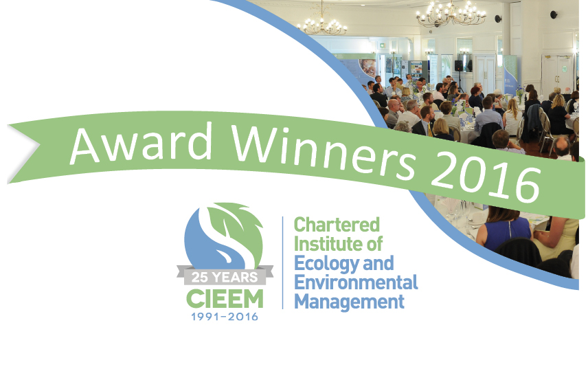 CIEEM Awards Winner 2016